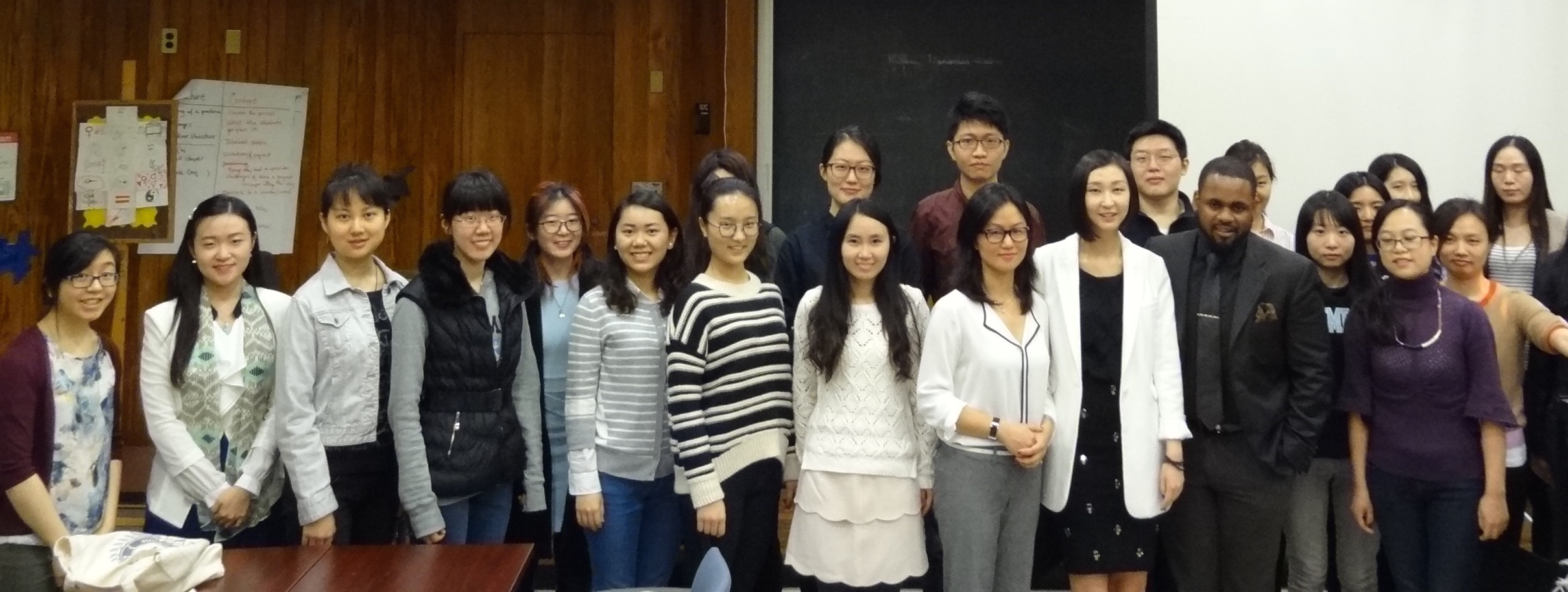 interEDGE Co-founder Di Hu Speaks to Chinese students on cross-cultural communication and career success