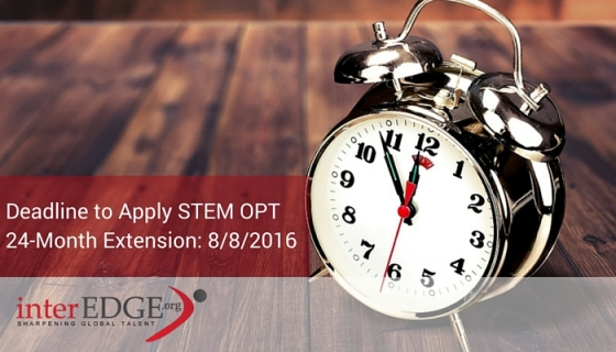 STEM OPT Extension Deadline