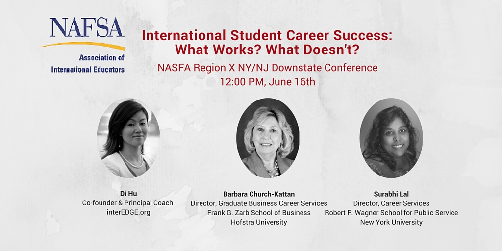 International Student Career Success Session NAFSA