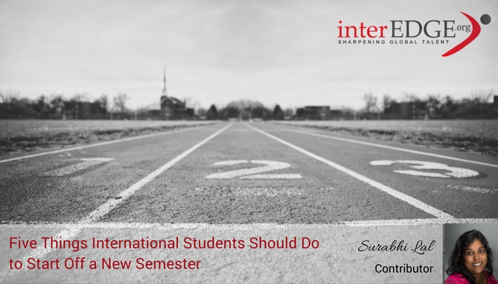 interEDGE - Five Things International Students should do to start off a new semester for career success