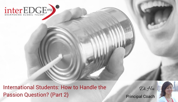 interEDGE-how to handle passion question in an interview