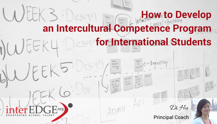 How to Develop an Intercultural Competence Program for International Students