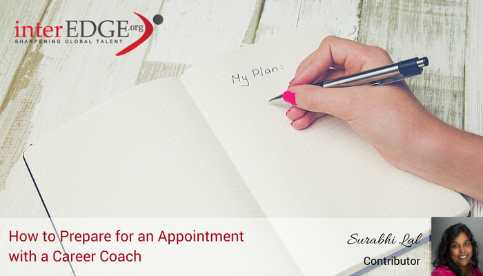 How international students prepare for an appointment with a career coach