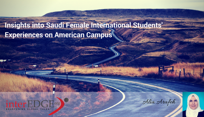 interEDGE Blog - Insights into Saudi Female International Students' Experiences on American Campus
